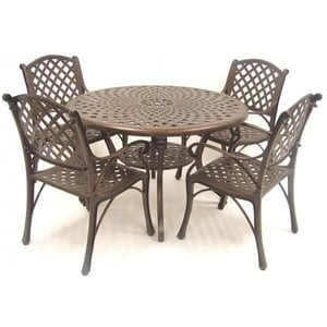 Outdoor Aluminium Table and Chair