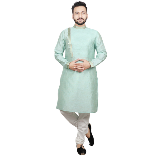 Mens Plain Full Sleeve Kurta