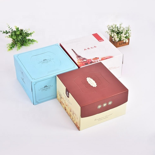 Food-Grade Cake Paper Packing Boxes and Gift Boxes