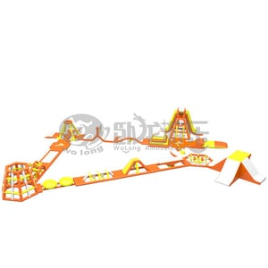 Hot Selling Mobile Large Inflatable Water Slide
