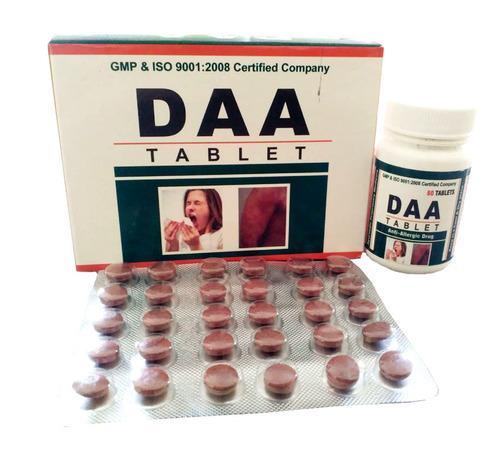 Ayurvedic Daa Tablet (Anti Allergic Medicine)