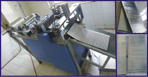 Aluminum Foil Corrugation Separator M/C