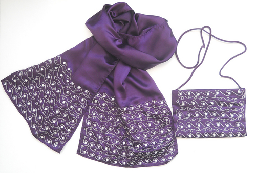 Scarf And Pouch (907457-S + P)