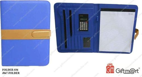 A4 Folder With Calculator