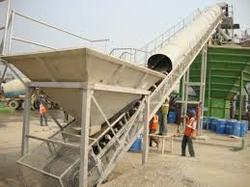 Aggregate Feeding Belt Conveyors