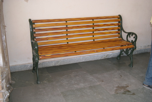 Cast Iron Park Bench