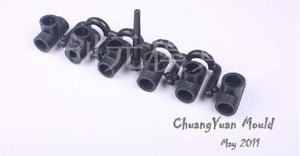 PE Equal Tee Pipe Fitting Mould