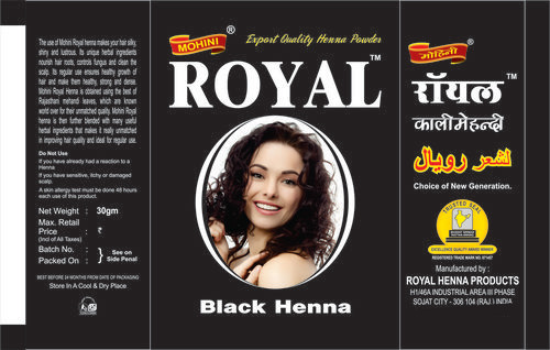 0a289a54d Henna Based Hair Dye in Sojat, Rajasthan - Royal Henna Products