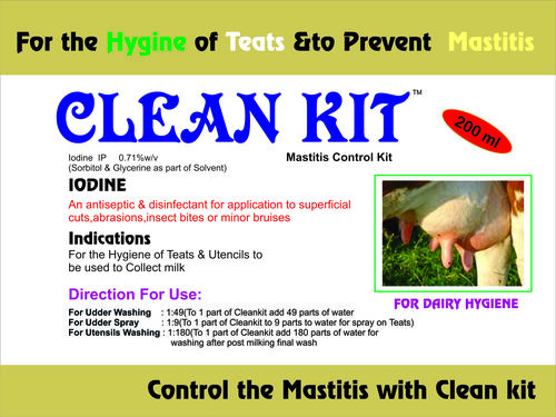 Mastitis Control Kit