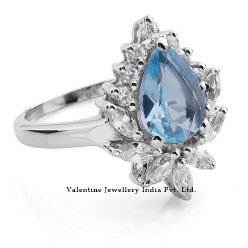 Designer Silver Engagement Rings