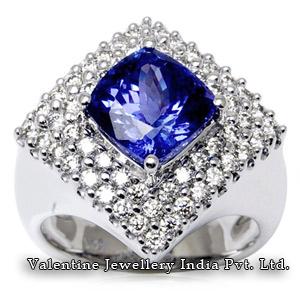 Diamond Tanzanite Rings