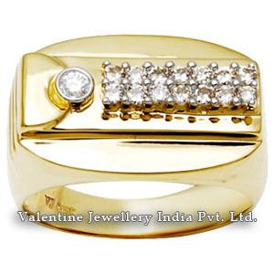 Engagement Jewelry Men Diamond Ring