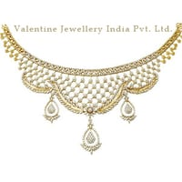 Wedding Diamond Gold Necklace Jewelry