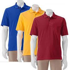 Polo Plain Collar T-Shirts