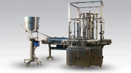 Automatic Eight Head Rotary Capping Machine