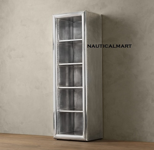 Aviator Aluminum Narrow Single Shelving