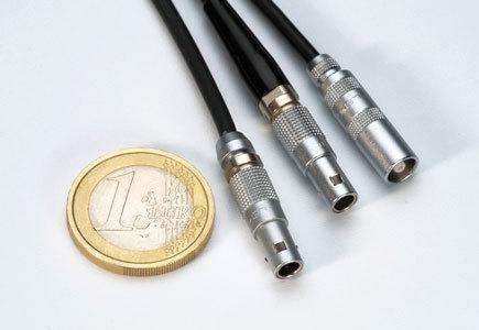 Lemo Miniature Coaxial Connectors 00-Series