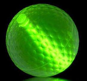 Night Mini Golf Ball