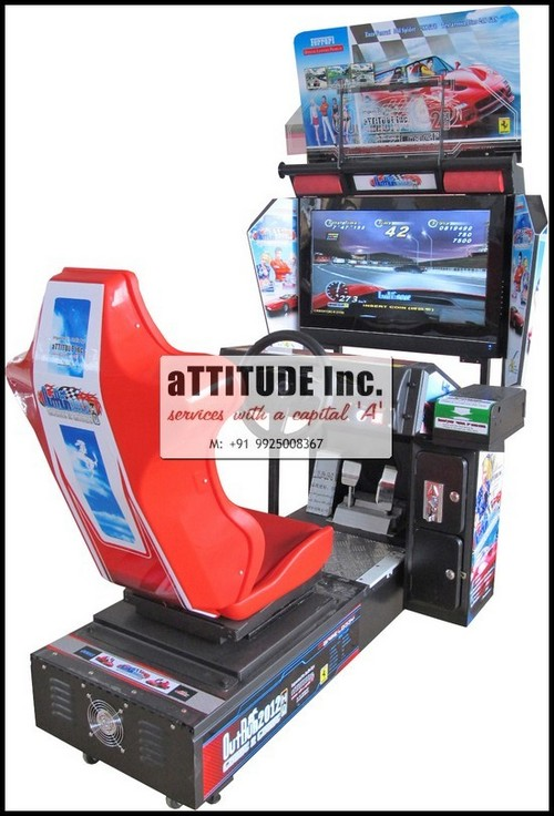 "Arcade Video Game Outrun (2012 - 32"")"