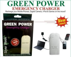 Green Power Emergency Charger