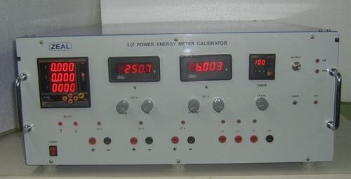 3 Phase Power Energy Calibrator