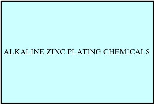 Alkaline Zinc Plating Chemicals