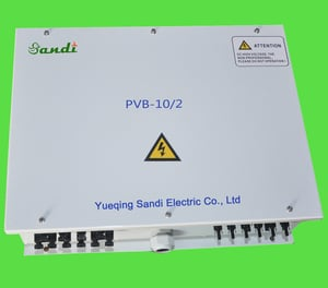 Pv Combiner Box With Lightning Protection 12 Strings