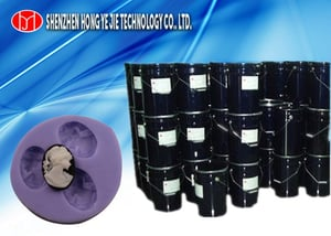 Pourable Silicone Rubber For Copy Resin Crafts