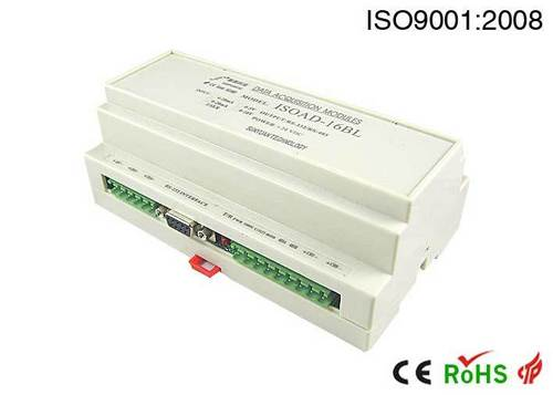 16x Channel Analog Signal Input, Rs 232/485 Output A/D Converter