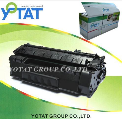 Printer Toner Compatible for HP Q7553A Q7553X with Chip