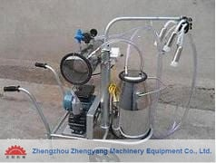 Labour Saving Milking Machine For Cow