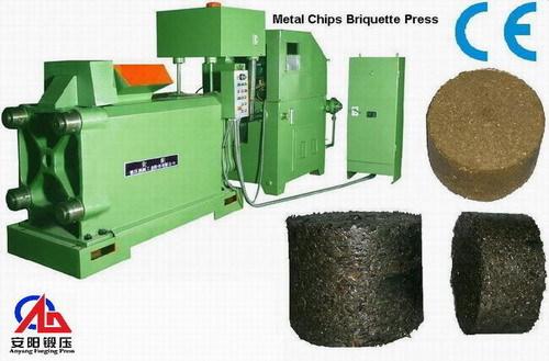 Briquetting Press For Metal Swarf