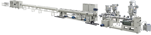 Three Layer Co-Extrusion Evoh Oxygen Barrier Pipe Extrusion Line