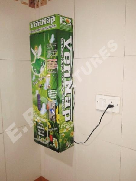 Sanitary Napkin Vending Machine - Vennap