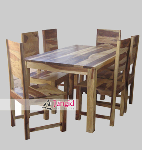 Indian Wooden Dining Table Design Jangid Art And Crafts C 60