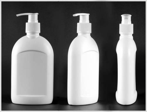 HDPE Flat Hand Wash Bottle