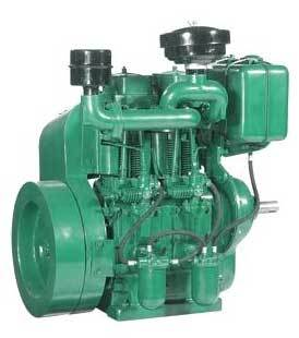 Diesel Engine Air Cooled Double Cylinder