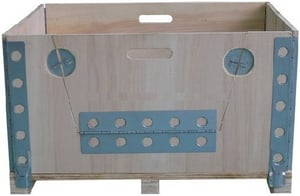 Pallet Collar With Side Opening