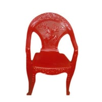 Beautiful Red Plastic Chair