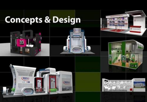 Exhibition Stall Design And Fabrication : Exhibition stall design and fabrication services in