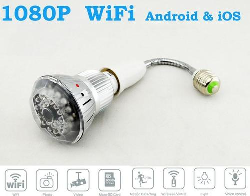 063 A   Dvr Led Bulb Wifi Motion & Ir