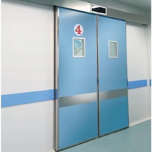 Double Leaves Automatic Sliding Operating Room Hermetic Door