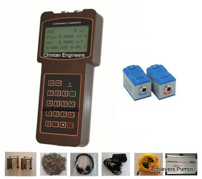 Portable Handheld Ultrasonic Flow Meter