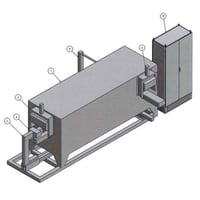 Continuous Pusher Furnace For Forging