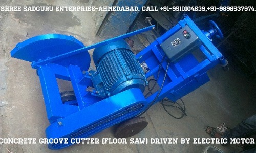 Concrete Groove Cutter Machine Electric