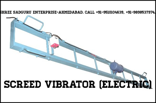 Double Beam Screed Vibrator Electric