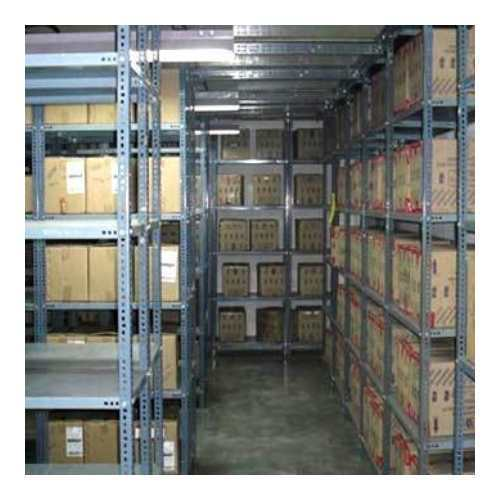 Double Sided Racking System
