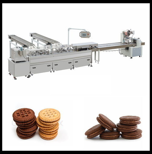 Biscuit Sandwich And Package Machine