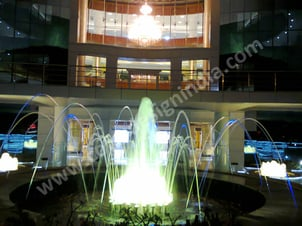 Jumping Jet Effect Fountain