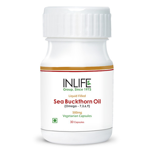 Seabuckthorn Oil Capsules Omega 7 3 6 9 Vegetarian Capsules At